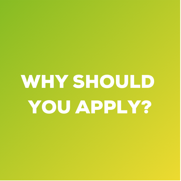 Why Should You Apply WE4F