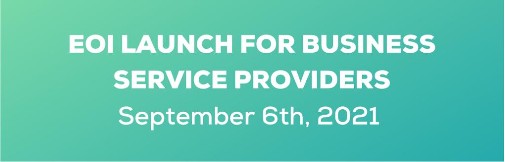 BSP EOI Launch 6 Sept 2021